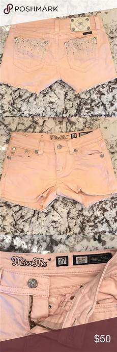 Light Pink Miss Me Jeans Miss Me Shorts Excellent Condition Light Pink Peach Color