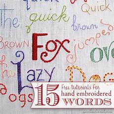 embroidery words embroidery lettering and text index needlenthread