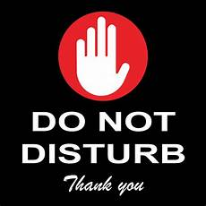 Do Not Disturb Signs Printable Do Not Disturb Sign 8 Quot X 8 Quot Ebay