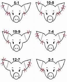 Ear Notch Pig Universal Ear Notching System Certified Pedigreed Swine