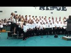 Northridge Middle School Northridge Middle School Choir Youtube