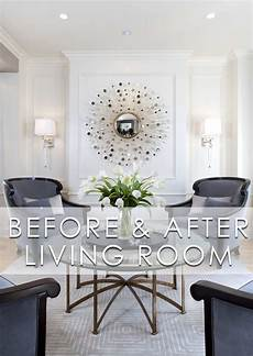 glamorous modern living room before and after robeson