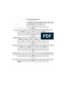 Football Team Depth Charts Printable Blank Special Teams 2013 Depth Chart