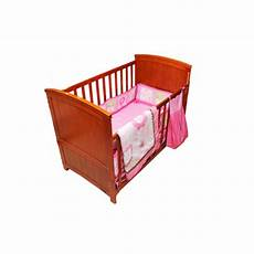 buy flower 5 pcs crib bedding set in