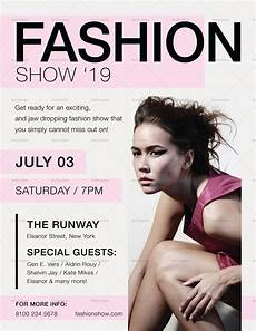 Fashion Show Flyers Fashion Show Flyer Design Template In Psd Word Publisher