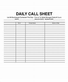 Call Log Template For Excel Call Log Sheet Template 11 Free Word Pdf Excel