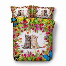 free shipping 3d animal cat butterfly 1 duvet cover 2