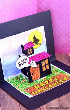 Pop Up Card Template Halloween Pop Up Card Template Easy Peasy And Fun