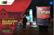 Billboard Design Template Bus Stop Billboard Design 1 Flyer Templates Creative