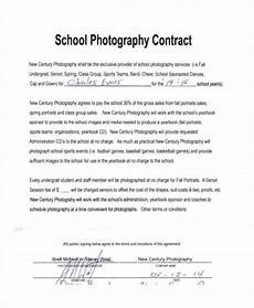 Contract For Photography Services Template 12 Photography Contract Templates Free Sample Example