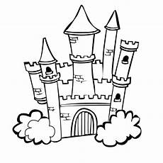 Malvorlagen Prinzessin Schloss Castle Colouring Pages Princess Castle