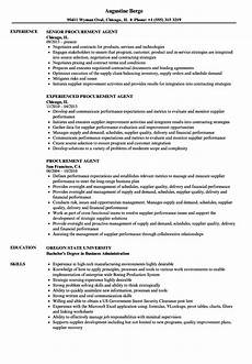 Purchase Agent Resume 12 13 Resumes For Purchasing Agent Mysafetgloves Com