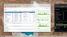 Apple Design Resources For Windows Fluent Design In Windows 10 Resource Monitor Looks Stunning