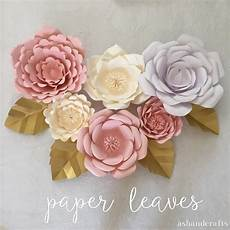 Paper Flower Template Free Templates Amp Tutorials For Making Paper Flowers With