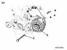 Remove Alternator 2004 Kia Sorento Service Manual