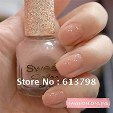 Light Brown Nail Color Sweet Color Environmental Protection Nail Polish Bare