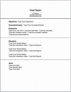Cv Template For Work Experience Pin By Job Resume On Job Resume Samples Job Resume