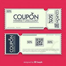 Free Lunch Coupon Template Free Vector Modern Coupon Template Design