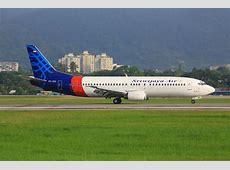 Sriwijaya Air Plane Is Seen Moving On Airport Runway In