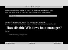 Windows Boot Manager   How fix easy Windows boot manager