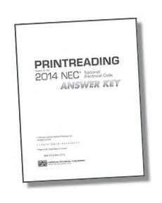 Printreading Based On The 2014 Nec W Answer Key