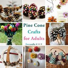 38 pine cone crafts for adults favecrafts