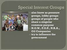 Special Interest Examples Ppt The United States Congress Powerpoint Presentation
