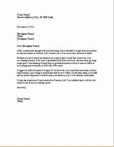 Ms Word Letter Template Ms Word Formal Resignation Letter Template Word Document