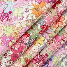fabric crafts quilting retro flower mini dot small spot floral cotton fabric