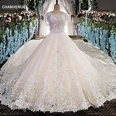ls00151 luxury wedding dress for bridal beaded gown
