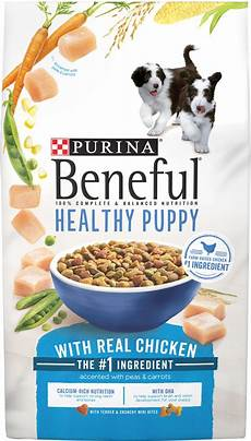 Beneful Puppy Food Chart Purina Beneful Healthy Puppy With Real Chicken Dry Dog