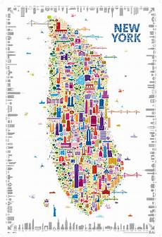 Malvorlagen New York Version New York Is My Muse The Print Version New York Poster