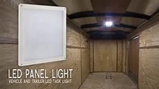 Enclosed Trailer Interior Led Light Kit Led Panel Light Vehicle And Trailer Led Task Light 6