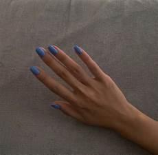 minimalistiske negle pin af f i j s c h e r m e r s p 229 nails ovale negle
