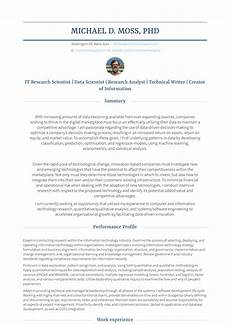 Resumes For Writers Technical Writer Resume Samples And Templates Visualcv