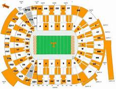 Tennessee Vols Football Seating Chart Neyland Stadium Seating Chart Google Search Tennessee