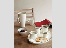 Abbesses Hand Glazed, Porcelain Plate: White with Hand