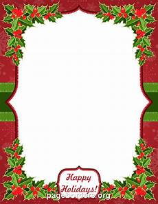 Holiday Borders For Microsoft Word Printable Quot Happy Holidays Quot Border Use The Border In