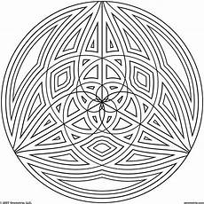 Coloring Geometric Pages 50 Trippy Coloring Pages