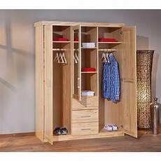 armadio legno massello armadio classico con specchio appendiabiti e cassetti in
