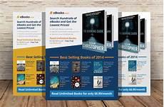 Flyers Book Ebook Flyer Template Psd Flyer Templates Creative Market