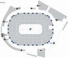 St Louis Blues Seating Chart View Enterprise Center Guide For St Louis Blues Games Kmox Am