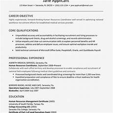 Human Resource Resume Objective Human Resources Resume Example And Writing Tips