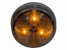 2 5 Round Light Hole Size 2 5 Quot Round Led Clearance Marker Light Heavy Duty Lighting