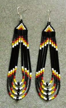 beadwork earrings 17 best eagle beadwork images on bead jewelry