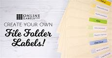 Template For File Labels 3 Ways To Create Your Own File Folder Labels