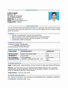 Electronics Engineer Resume Samples Resume Electrical Amp Electronics Engineering