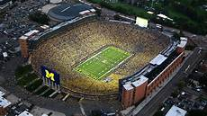 University Of Michigan Big House Seating Chart The Top 12 Drone Worthy Stadiums In College Football