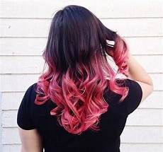 Black To Light Pink Ombre Hair 20 Pink Ombre Hairstyles
