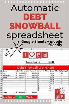 Snowball Debt Spreadsheet Free Debt Snowball Spreadsheet Video